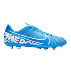 Nike Mercurial Vapor XIII Club Kids Football Boots Blue / White US 1, Blue / White, rebel_hi-res