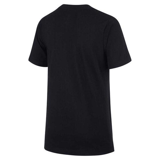 Nike Boys Sportswear Air Tee, Black / White, rebel_hi-res