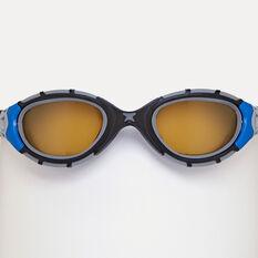 Zoggs Predator Flex Polarised Swim Goggles Blue Regular, Blue, rebel_hi-res