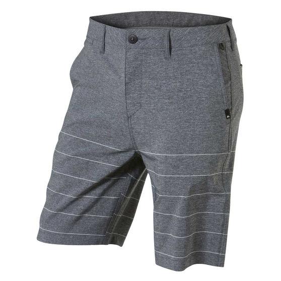 "Quiksilver Mens Union Plaid Amphibian 21"" Walk Shorts, , rebel_hi-res"
