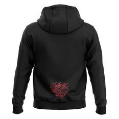 St George Illawarra Dragons 2020 Mens Pullover Hoodie Black S, Black, rebel_hi-res