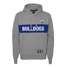 Canterbury Canterbury-Bankstown Bulldogs 2021 Mens Hoodie, Grey, rebel_hi-res