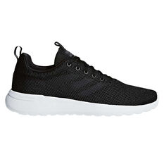adidas Cloudfoam Lite Racer Mens Casual Shoes Black / Black US 7, Black / Black, rebel_hi-res