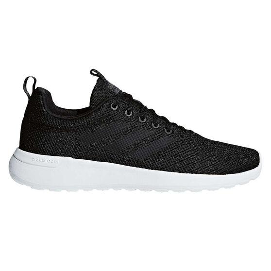 adidas Cloudfoam Lite Racer Mens Casual Shoes Black / Black US 12, Black / Black, rebel_hi-res