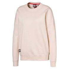 Puma Womens Adriana Lima Sweatshirt White XS, White, rebel_hi-res