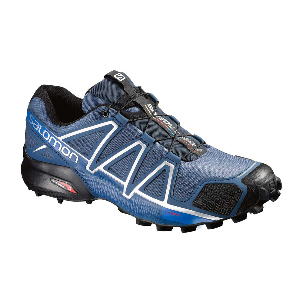 detailed pictures ad97a d73b8 Salomon Speedcross 4 Mens Trail Running Shoes Blue   Grey US 14, Blue   Grey