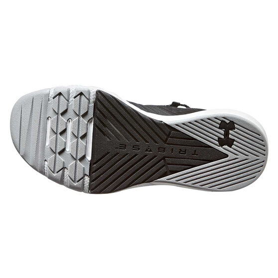 Under Armour Project Rock 2 Kids Training Shoes, Grey, rebel_hi-res