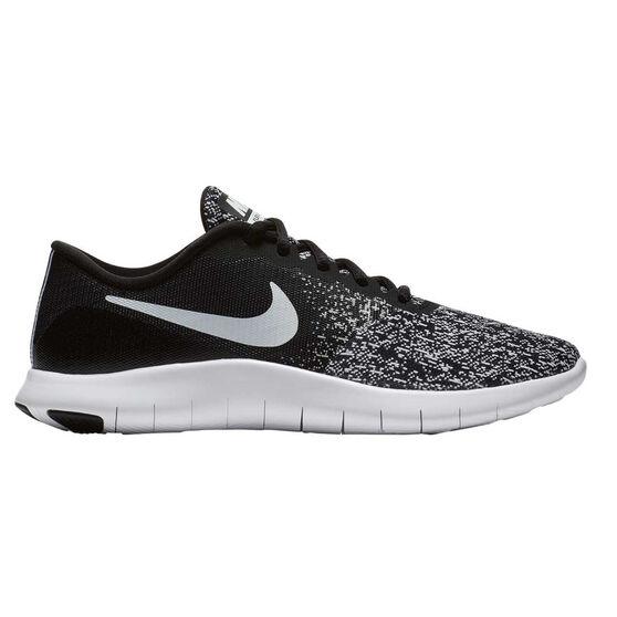 16f1f671dae3 Nike Flex Contact Womens Running Shoes Black   White US 8