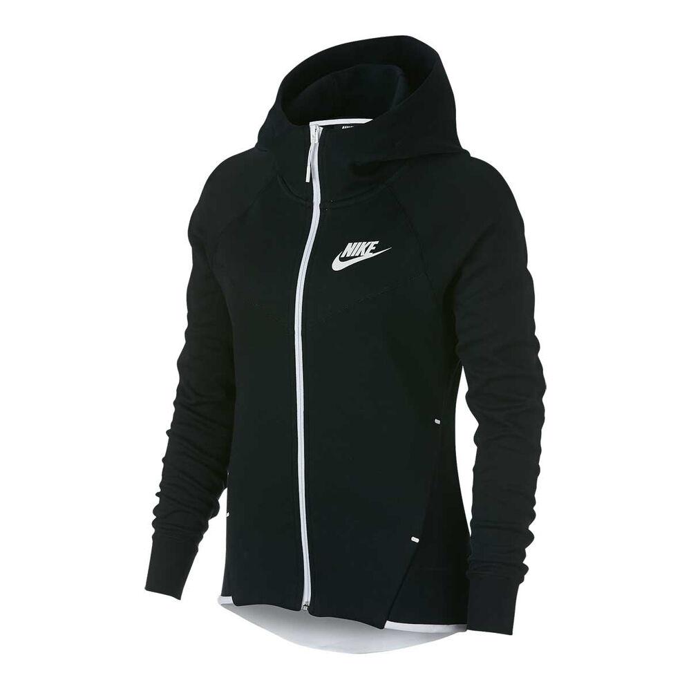 96bea06b1f7c Nike Womens Sportswear Tech Fleece Hoodie Black XS