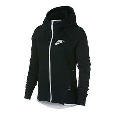 Nike Womens Sportswear Tech Fleece Hoodie Black XS, Black, rebel_hi-res
