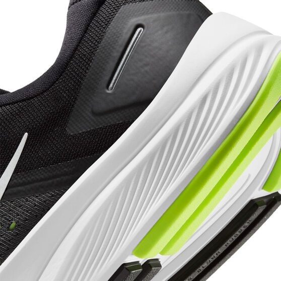 Nike Air Zoom Structure 23 Mens Running Shoes, Black/Silver, rebel_hi-res