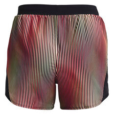 Under Armour Womens Fly By 2.0 Chroma Shorts Pink XS, Pink, rebel_hi-res