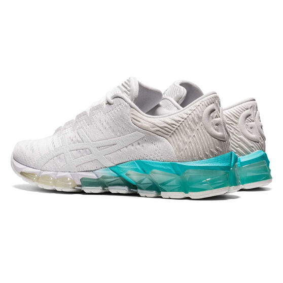 Asics GEL Quantum 360 5 Jacquard Womens Training Shoes, White/Mint, rebel_hi-res