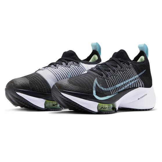 Nike Air Zoom Tempo Next% Womens Running Shoes, Black/White, rebel_hi-res