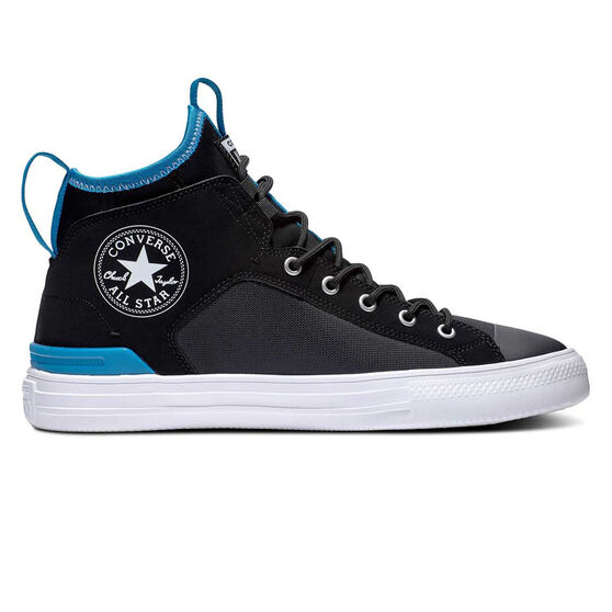 Converse Chuck Taylor Ultra Cons Force Mid Mens Casual Shoes, Black / Blue, rebel_hi-res