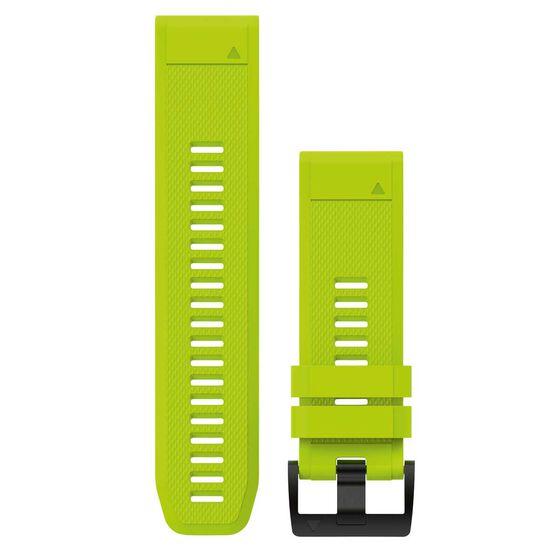 Garmin Fenix 5X QuickFit Silicone Band Amp Yellow 26mm, , rebel_hi-res
