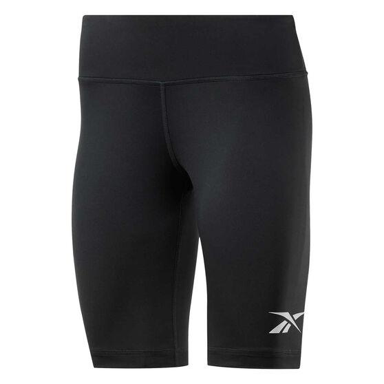 Reebok Womens MYT Shorts, Black, rebel_hi-res