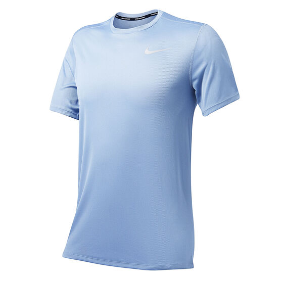 Nike Mens Running Tee Navy S, Navy, rebel_hi-res
