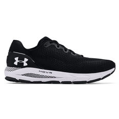 Under Armour HOVR Sonic 4 Mens Running Shoes Black/White US 7, Black/White, rebel_hi-res