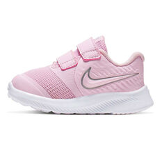 Nike Star Runner 2 Toddlers Shoes Pink / White US 4, Pink / White, rebel_hi-res