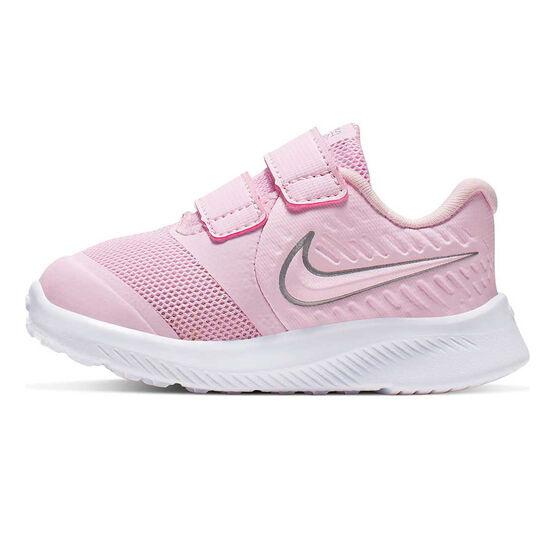Nike Star Runner 2 Toddlers Shoes Pink / White US 5, Pink / White, rebel_hi-res