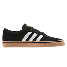 adidas adi Ease Mens Casual Shoes Black/White US 4, Black/White, rebel_hi-res