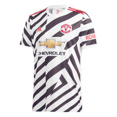 Manchester United 2020/21 Mens Third Jersey White, White, rebel_hi-res