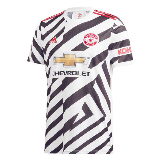 Manchester United 2020/21 Mens Third Jersey, White, rebel_hi-res
