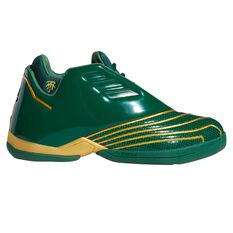 adidas T-Mac 2.0 Restomod Basketball Shoes Green US 7, Green, rebel_hi-res