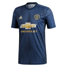 Manchester United FC 2018 / 19 Mens Replica Third Jersey, , rebel_hi-res