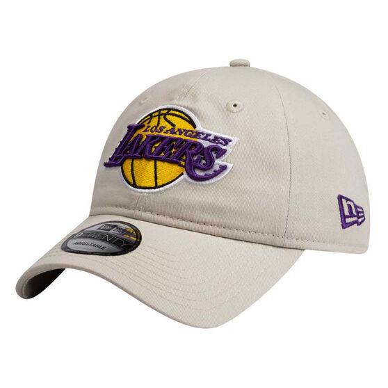 Los Angeles Lakers New Era 9TWENTY Stone Cap, , rebel_hi-res