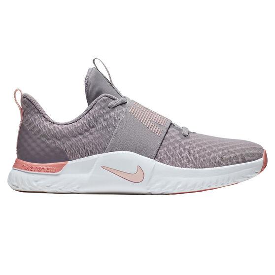 Nike In-Season TR 9 Womens Training Shoes, Grey / Pink, rebel_hi-res