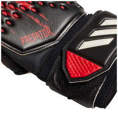 adidas Predator 20 Match Goalkeeping Gloves with Fingersaves Black / Red 7, Black / Red, rebel_hi-res