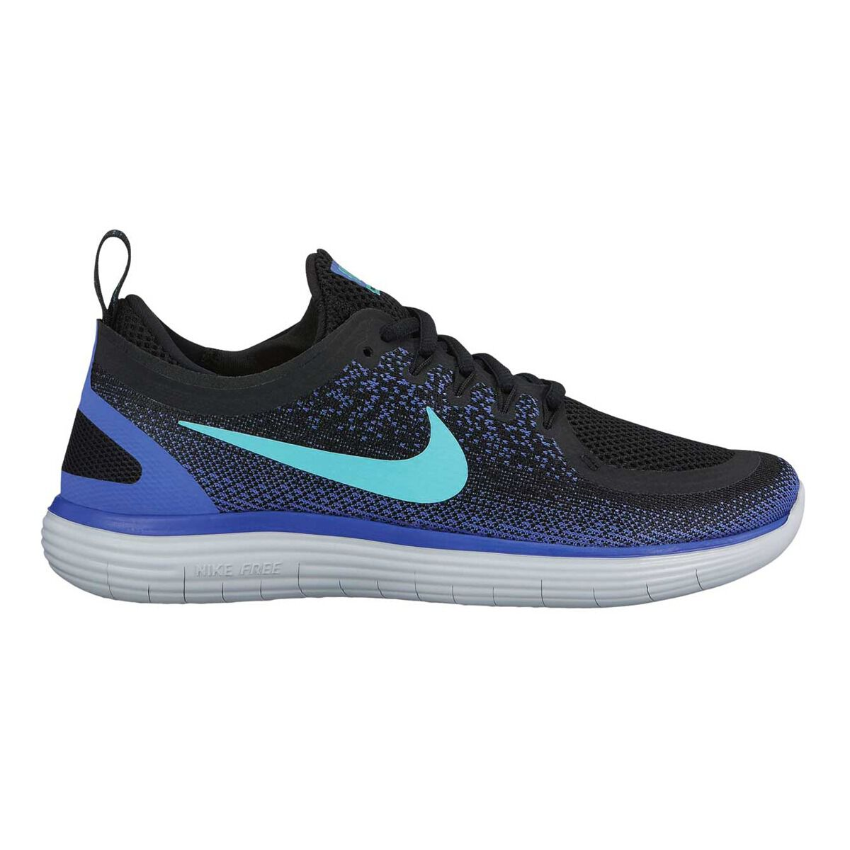 outlet store 694da 9c0b5 ... top quality nike free rn distance 2 womens running shoes black green us  7.5 black 69996
