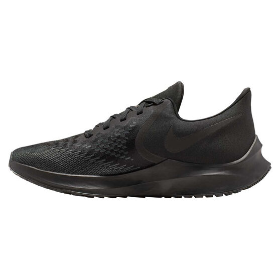 Nike Air Zoom Winflo 6 Mens Running Shoes, Black, rebel_hi-res
