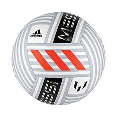 adidas Messi Q4 Soccer Ball White / Grey 4, White / Grey, rebel_hi-res