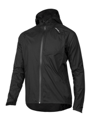 2XU Mens Pursuit AC Shell Jacket Black S, Black, rebel_hi-res
