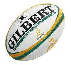 Gilbert Wallabies Replica Rugby Ball, , rebel_hi-res