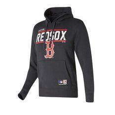 Boston Red Sox Flex Team Hoodie Black S, Black, rebel_hi-res