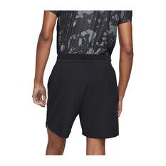 NikeCourt Mens Dri-FIT Advantage Tennis Shorts Black XS, Black, rebel_hi-res