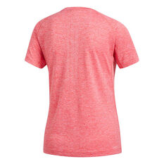 c650ac4a187 ... adidas Womens Prime 3 Stripes Training Tee Red XS, Red, rebel_hi-res