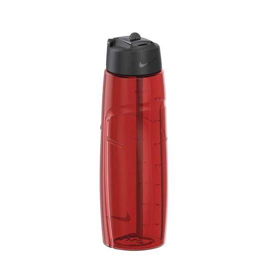 Nike T1 Flow 950ml Water Bottle Red 950ml, Red, rebel_hi-res