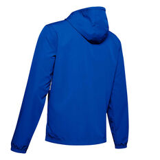 Under Armour Mens Sportstyle Wind Jacket Blue S, Blue, rebel_hi-res