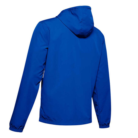 Under Armour Mens Sportstyle Wind Jacket, Blue, rebel_hi-res