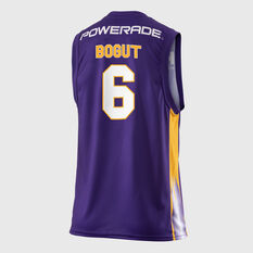 Sydney Kings Andrew Bogut 2018 / 19 Mens Home Jersey Purple S, Purple, rebel_hi-res