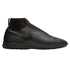 Nike Phantom Vision Pro React Mens Touch and Turf Boots Black US 7, Black, rebel_hi-res