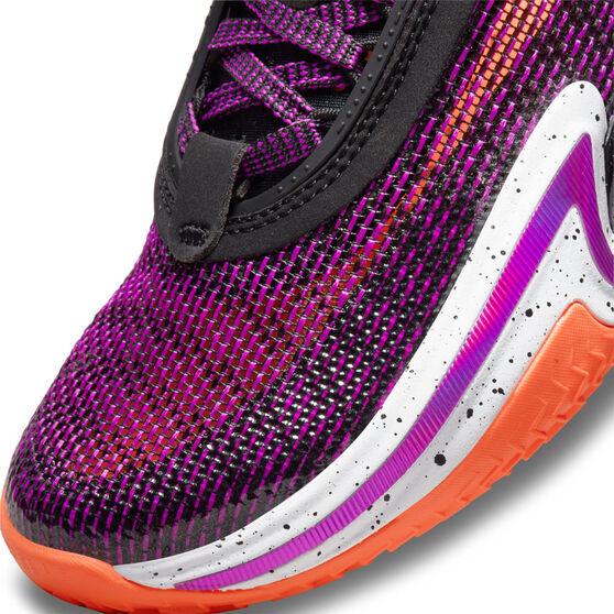 Air Jordan 36 Kids Basketball Shoes Black US 7, Black, rebel_hi-res