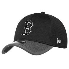 Boston Red Sox 39THIRTY Black Out Cap, , rebel_hi-res