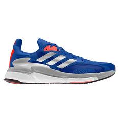 adidas Solar Boost 3 Mens Running Shoes Blue US 7, Blue, rebel_hi-res