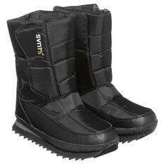 SVNT5 Mens Snowline Moon Boots Black / Charcoal US 13, Black / Charcoal, rebel_hi-res